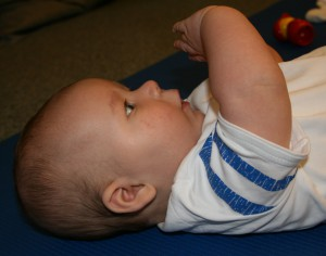 Fysiotherapie voor baby's